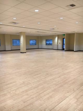 comm center floor